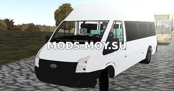 Шикарный ford transit для omsi 2